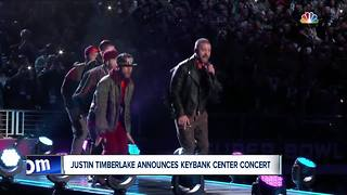 Justin Timberlake coming to KeyBank Center in October - Video