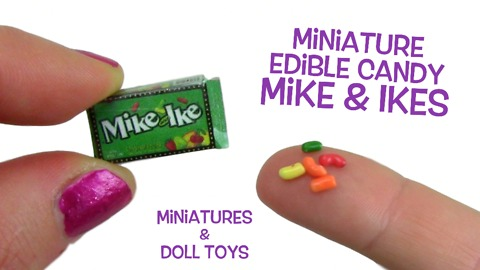 How to make miniature edible candy