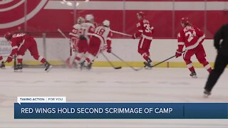 Blashill, Mantha discuss second scrimmage of Red Wings camp