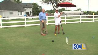 Joel tries golf croquet with the Kactus Creek Croquet Club