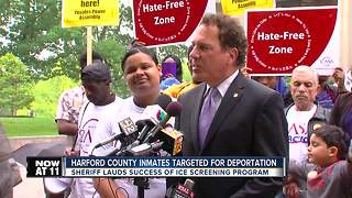 Harford County inmates targeted for deportation - Video