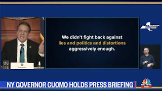 Cuomo: Don't Spread Lies About My Lies