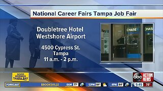 Companies looking to hire participating in Tuesday's job fair