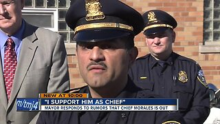 Mayor Barrett says he wants Chief Alfonso Morales to stay as top cop