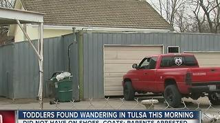 Toddlers Found Wandering In Tulsa This Morning - Video