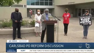Activists hold reform discussion with Carlsbad PD