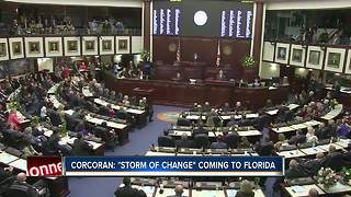 Corcoran: 'Storm of change' coming to Florida - Video
