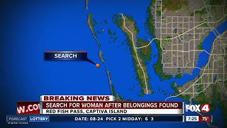 Coast Guard searching for woman off Captiva - Video