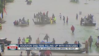 Gulf High grads lead Tampa relief efforts for members of Houston church - Video