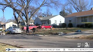 Cleanup underway near house explosion that killed two people