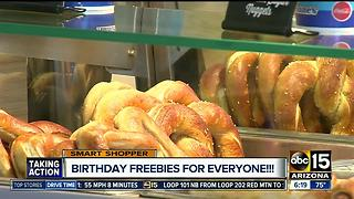 Check out all these freebies you can score on your birthday! - Video