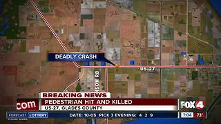 Pedestrian killed on US-27 - Video
