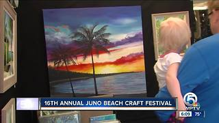 16th annual Juno Beach craft festival held this weekend - Video
