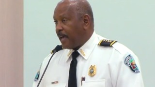 Future of the police chief  Clarence Williams - Video