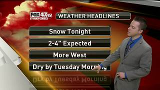 Dustin's Forecast 2-5 - Video