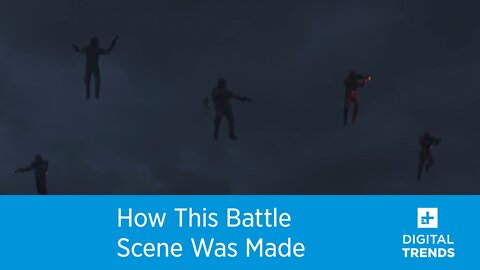 Watch How Epic Battle Scene in The Mandalorian Was Made!