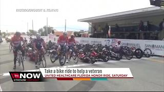 Helping local veterans could be as easy as riding a bike