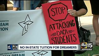 Arizona court overturns in-state tuition for DREAMers - Video