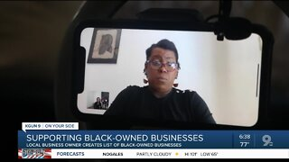 Local business owner creates list of Tucson black-owned businesses