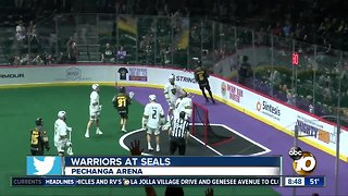 Warriors at Seals Lacrosse game