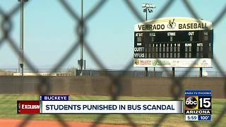 Buckeye students punished in bus scandal - Video