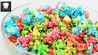How to make rainbow popcorn - Video