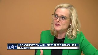 Future state treasurer finds responsibilities not addressed in years