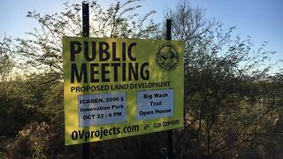 Public weighs in on plans for Oro Valley trail - Video