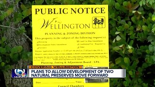 Wellington natural preserves discussion