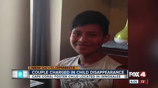 Couple Charged in Child Disappearance