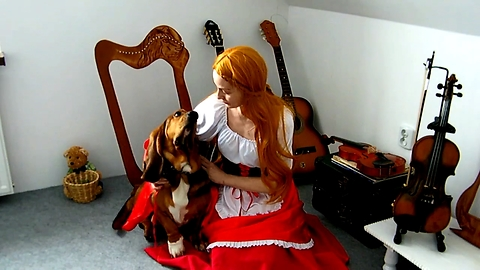 Little Red Riding Hood And Echo