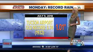 April's First Warning Weather July 10, 2018 - Video