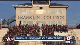 Franklin College welcomes new class of students