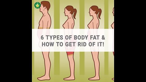 6 types of body fat & how to get rid of it