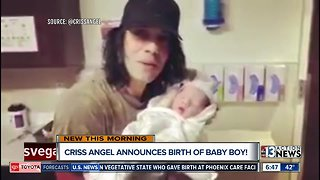 Criss Angel and wife have another child