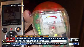 Las Vegas woman can break apartment lease after paranormal investigation - Video