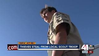 Police looking for thieves who stole from Scouts