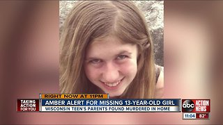 Amber Alert issued for missing 13-year-old Wisconsin girl, parents found dead