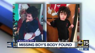Missing Bullhead City boy found dead - Video