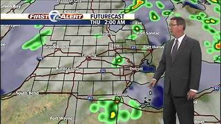 Metro Detroit Forecast: Storms move through - Video