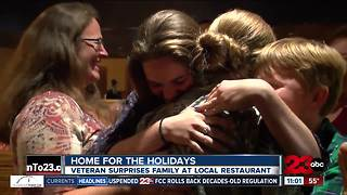 Veteran returns home for the holidays - Video