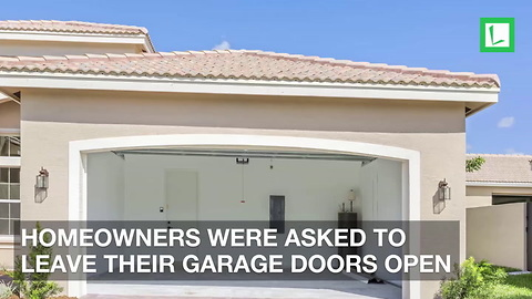 Upset Neighbors Refuse Demand from HOA to Keep Garage Open or $200 Fine