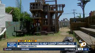 Volunteers wanted to cleanup community space - Video