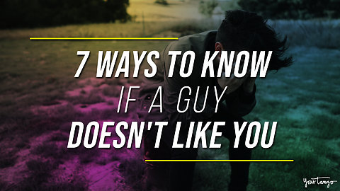7 Ways To Know If A Guy Doesn't Like You Or Want A Relationship