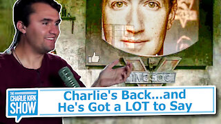 Charlie's Back...and He's Got a LOT to Say