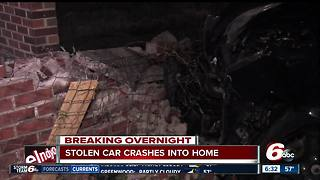 Breaking overnight: Car crashes into east side home