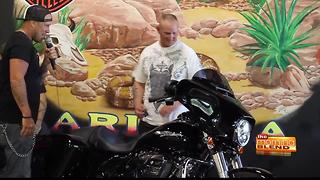 Local veteran honored with Harley Davidson as part of Mission: THANK YOU - Video