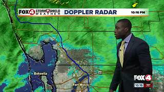 Soggy start to the work week - Video