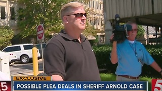Possible Plea Deals For Co-Defendants To Testify Against Sheriff Arnold - Video