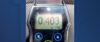 NHP arrests impaired driver 5 times the legal limit